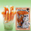 Pet Snacks Dog Food Chicken Chew Moral Sticks - COLORMIX