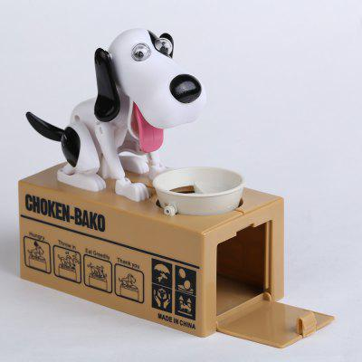 Hungry Eating Dog Electric Money Boxes