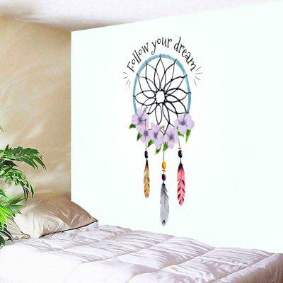 Buy COLORMIX Dreamcatcher Letter Print Wall Decor Tapestry for $11.19 in GearBest store