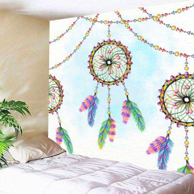 Buy COLORMIX Wall Art Dreamcatcher Print Tapestry for $15.57 in GearBest store