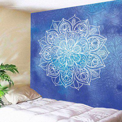 Mandala Flower Print Wall Decor Tapestry
