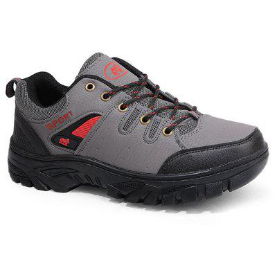Mesh Panel Outdoor Casual Sports Shoes