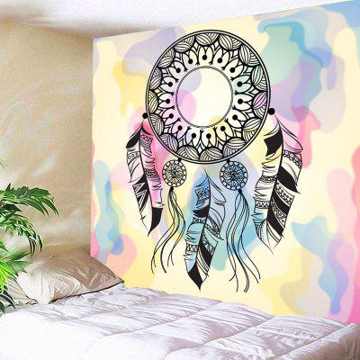 Buy COLORMIX Wall Decor Dreamcatcher Printed Tapestry for $12.79 in GearBest store