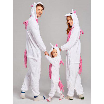 Unicorn Animal Family Christmas Onesie PajamasPajamas<br>Unicorn Animal Family Christmas Onesie Pajamas<br><br>Fabric Type: Fleece<br>Material: Cotton, Polyester<br>Package Contents: 1 x Pajamas<br>Pattern Type: Animal<br>Weight: 0.5000kg