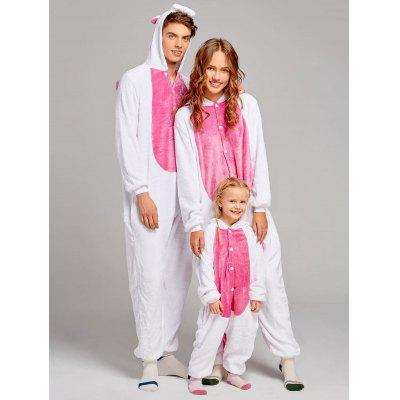 Unicorn Animal Family Christmas Onesie Pajamas