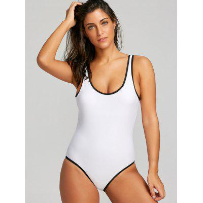 U Neck One Piece SwimwearLingerie &amp; Shapewear<br>U Neck One Piece Swimwear<br><br>Bra Style: Padded<br>Elasticity: Elastic<br>Gender: For Women<br>Material: Nylon, Spandex<br>Neckline: U Neck<br>Package Contents: 1 x Swimwear<br>Pattern Type: Others<br>Support Type: Wire Free<br>Swimwear Type: One Piece<br>Waist: Natural<br>Weight: 0.2500kg