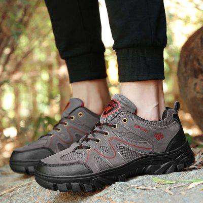Breathable Athletic Sports Hiking Casual ShoesAthletic Shoes<br>Breathable Athletic Sports Hiking Casual Shoes<br><br>Closure Type: Lace-Up<br>Embellishment: None<br>Gender: For Men<br>Occasion: Casual<br>Outsole Material: Rubber<br>Package Contents: 1 x Casual Shoes (pair)<br>Pattern Type: Patchwork<br>Season: Winter, Spring/Fall<br>Shoe Width: Medium(B/M)<br>Toe Shape: Round Toe<br>Toe Style: Closed Toe<br>Upper Material: Synthetic<br>Weight: 1.1400kg
