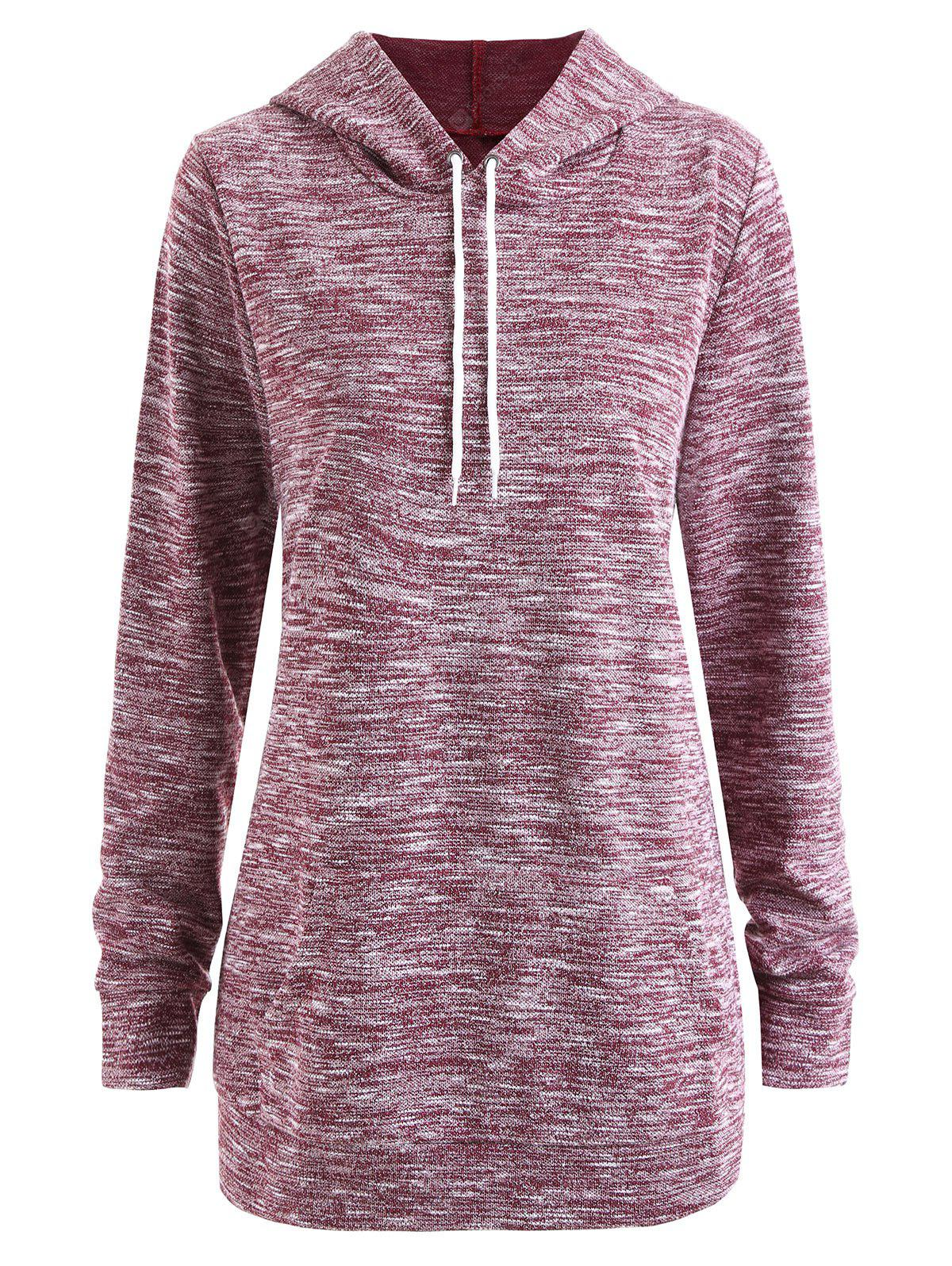 Plus Size Heather Hoodie