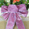 Christmas Party Decorations Bowknot - PINKISH PURPLE