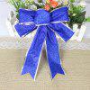 Christmas Party Decorations Bowknot - BLUE