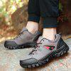 Mesh Panel Outdoor Casual Sports Shoes - GRAY