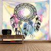 Wall Decor Dreamcatcher Printed Tapestry - COLORMIX