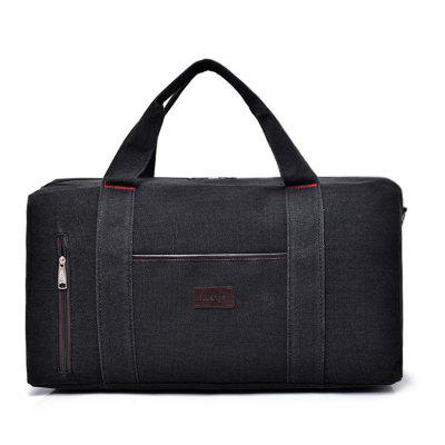 Canvas Front Zip Weekender Bag