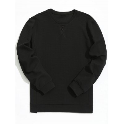 Textured Mens Sweatshirt