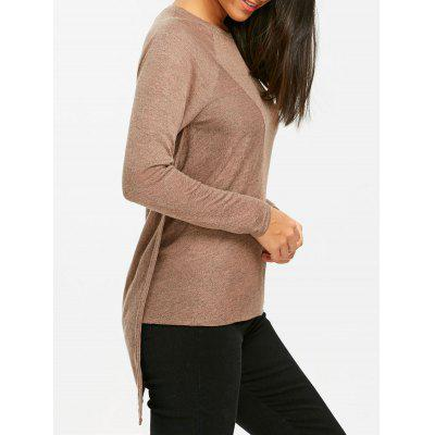 Asymmetrical Tunic Pullover Sweater