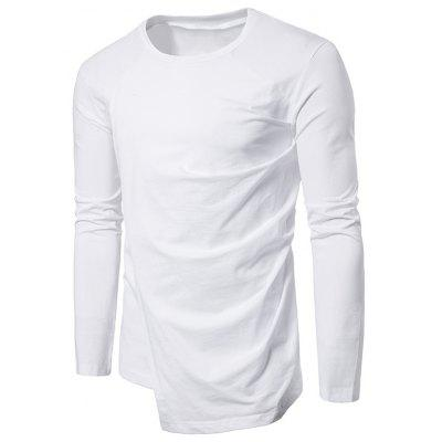 Long Sleeve Layered Asymmetrical Tee