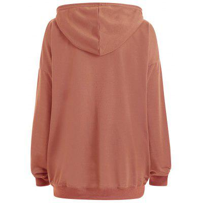 Plus Size Drop Shoulder Plain Hoodie with PocketPlus Size Tops<br>Plus Size Drop Shoulder Plain Hoodie with Pocket<br><br>Embellishment: Front Pocket<br>Material: Cotton Blend, Polyester<br>Package Contents: 1 x Hoodie<br>Pattern Style: Solid<br>Season: Fall, Winter<br>Shirt Length: Regular<br>Sleeve Length: Full<br>Style: Fashion<br>Weight: 0.3700kg