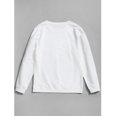 Crew Neck Feather Graphic SweatshirtMens Hoodies &amp; Sweatshirts<br>Crew Neck Feather Graphic Sweatshirt<br><br>Material: Cotton, Spandex<br>Package Contents: 1 x Sweatshirt<br>Pattern Type: Graphic<br>Shirt Length: Regular<br>Sleeve Length: Full<br>Style: Casual<br>Weight: 0.4200kg
