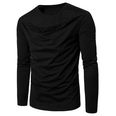 Front Cut Out Long Sleeve Tee