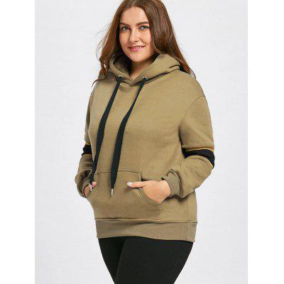 Plus Size Stripe Insert Fleece Lined Pocket HoodiePlus Size Tops<br>Plus Size Stripe Insert Fleece Lined Pocket Hoodie<br><br>Embellishment: Front Pocket,Panel<br>Material: Cotton Blend, Polyester<br>Package Contents: 1 x Hoodie<br>Pattern Style: Striped<br>Season: Fall, Winter<br>Shirt Length: Regular<br>Sleeve Length: Full<br>Style: Fashion<br>Weight: 0.6800kg