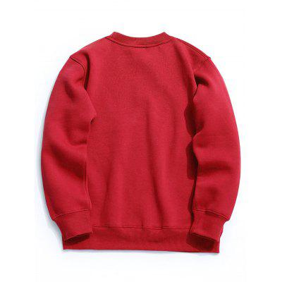Crew Neck Fleece Mens SweatshirtMens Hoodies &amp; Sweatshirts<br>Crew Neck Fleece Mens Sweatshirt<br><br>Material: Cotton, Polyester<br>Package Contents: 1 x Sweatshirt<br>Pattern Type: Solid<br>Shirt Length: Regular<br>Sleeve Length: Full<br>Style: Casual<br>Weight: 0.5500kg