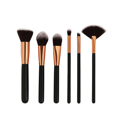 Фото Professional 6 Pcs Ultra Soft Makeup Brushes Set. Купить в РФ