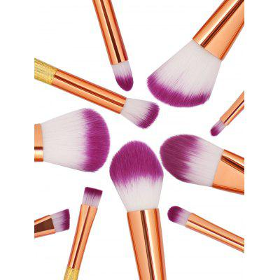 Фото Professional Shell Shape Embellished Makeup Brushes Set. Купить в РФ