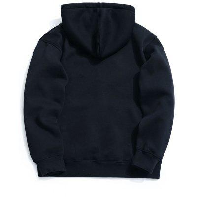 Kangaroo Pocket Fleece Zip Up HoodieMens Hoodies &amp; Sweatshirts<br>Kangaroo Pocket Fleece Zip Up Hoodie<br><br>Material: Cotton, Polyester<br>Package Contents: 1 x Hoodie<br>Pattern Type: Solid<br>Shirt Length: Regular<br>Sleeve Length: Full<br>Style: Casual<br>Weight: 0.6800kg