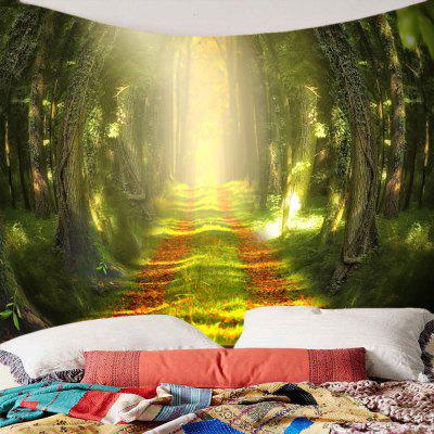 Фото Sunshine Forest Trail Printed Wall Hanging Tapestry. Купить в РФ