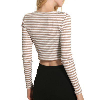 Фото Striped Crop Knitwear. Купить в РФ