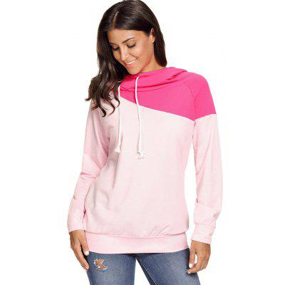 Drawstring Color Blocking HoodieSweatshirts &amp; Hoodies<br>Drawstring Color Blocking Hoodie<br><br>Material: Cotton, Polyester<br>Package Contents: 1 x Hoodie<br>Pattern Style: Others<br>Season: Fall, Spring, Winter<br>Shirt Length: Regular<br>Sleeve Length: Full<br>Style: Casual<br>Weight: 0.4700kg
