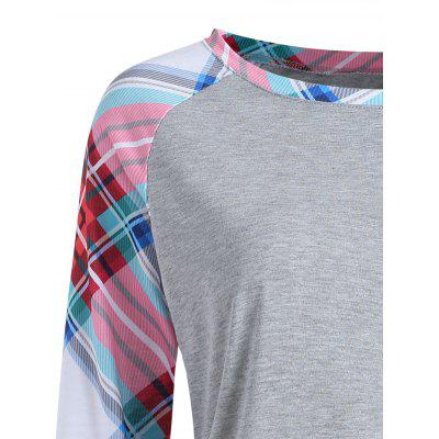 Фото Plaid Pocket Baseball T-shirt. Купить в РФ