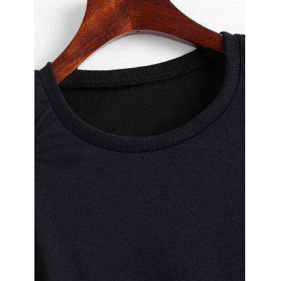 Фото Cut Out Open Shoulder Tee. Купить в РФ