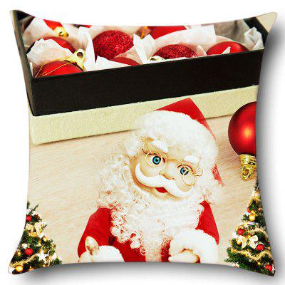 Santa Claus with Glasses Pattern Pillow CasePillow<br>Santa Claus with Glasses Pattern Pillow Case<br><br>Material: Linen<br>Package Contents: 1 x Pillow Case<br>Pattern: Santa Claus<br>Style: Festival<br>Weight: 0.0700kg