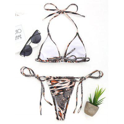 Фото Micro Leopard Low Waisted Bikini Set. Купить в РФ
