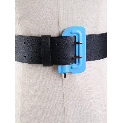 Funny Lock Shape Buckle Embellished Faux Leather Waist BeltBelts<br>Funny Lock Shape Buckle Embellished Faux Leather Waist Belt<br><br>Belt Length: 98CM<br>Belt Material: Faux Leather<br>Belt Silhouette: Waist Belt<br>Belt Width: 4CM<br>Gender: For Women<br>Group: Adult<br>Package Contents: 1 x Belt<br>Pattern Type: Lock<br>Style: Fashion<br>Weight: 0.0970kg