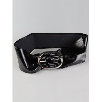 Vintage Metal Round Buckle Design Faux Leather Wide Waist BeltBelts<br>Vintage Metal Round Buckle Design Faux Leather Wide Waist Belt<br><br>Belt Length: 100CM<br>Belt Material: Faux Leather<br>Belt Silhouette: Wide Belt<br>Belt Width: 10CM<br>Gender: For Women<br>Group: Adult<br>Package Contents: 1 x Belt<br>Pattern Type: Others<br>Style: Vintage<br>Weight: 0.1600kg