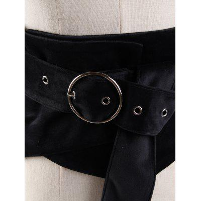 Metal Round Buckle Ladies High Waist BeltBelts<br>Metal Round Buckle Ladies High Waist Belt<br><br>Belt Length: 130CM<br>Belt Material: Suede<br>Belt Silhouette: Buckle<br>Belt Width: 15CM<br>Gender: For Women<br>Group: Adult<br>Package Contents: 1 x Belt<br>Pattern Type: Others<br>Style: Fashion<br>Weight: 0.1850kg