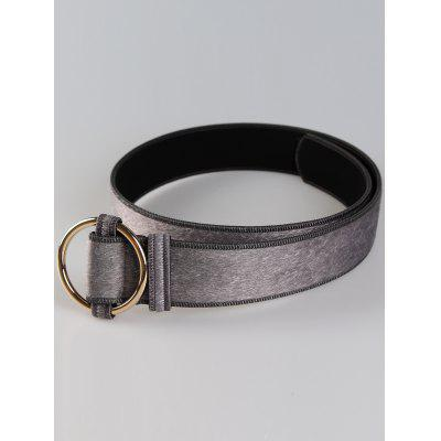 Vintage Metal Round Buckle Embellished Faux Suede Ladies Waist BeltBelts<br>Vintage Metal Round Buckle Embellished Faux Suede Ladies Waist Belt<br><br>Belt Length: 105CM<br>Belt Material: Suede<br>Belt Silhouette: Buckle<br>Belt Width: 4.5CM<br>Gender: For Women<br>Group: Adult<br>Package Contents: 1 x Belt<br>Pattern Type: Others<br>Style: Vintage<br>Weight: 0.0950kg