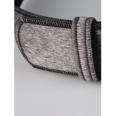 Фото Vintage Metal Round Buckle Embellished Faux Suede Ladies Waist Belt. Купить в РФ