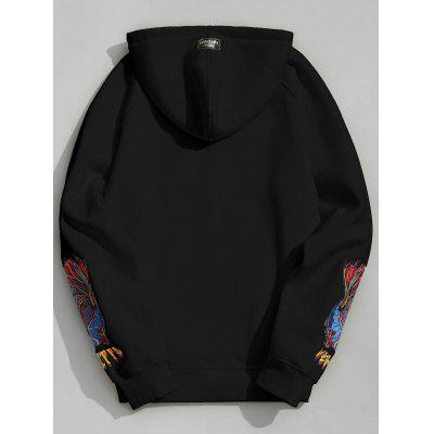 Embroidered Oversize Mens HoodieMens Hoodies &amp; Sweatshirts<br>Embroidered Oversize Mens Hoodie<br><br>Material: Cotton Blends, Polyester<br>Package Contents: 1 x Hoodie<br>Pattern Type: Graphic<br>Shirt Length: Regular<br>Sleeve Length: Full<br>Style: Fashion<br>Weight: 0.5700kg