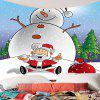 Fat Snowman Printed Wall Art Tapestry - COLORATO