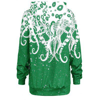 3D Octopus Kangaroo Pocket HoodieSweatshirts &amp; Hoodies<br>3D Octopus Kangaroo Pocket Hoodie<br><br>Material: Polyester, Spandex<br>Package Contents: 1 x Hoodie<br>Pattern Style: Others<br>Season: Fall, Spring<br>Shirt Length: Regular<br>Sleeve Length: Full<br>Style: Fashion<br>Weight: 0.5350kg