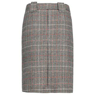 Vintage Plaid SkirtSkirts<br>Vintage Plaid Skirt<br><br>Length: Knee-Length<br>Material: Polyester, Spandex<br>Package Contents: 1 x Skirt  1 x Belt<br>Pattern Type: Plaid<br>Season: Spring, Winter, Fall<br>Silhouette: A-Line<br>Weight: 0.4200kg