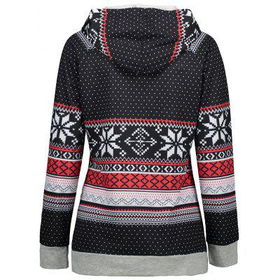 Ugly Christmas Snowflake HoodieSweatshirts &amp; Hoodies<br>Ugly Christmas Snowflake Hoodie<br><br>Material: Polyester, Spandex<br>Package Contents: 1 x Hoodie<br>Pattern Style: Others<br>Season: Fall, Spring<br>Shirt Length: Regular<br>Sleeve Length: Full<br>Style: Fashion<br>Weight: 0.4200kg