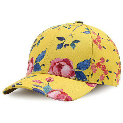 Outdoor Foral Pattern Baseball Hat