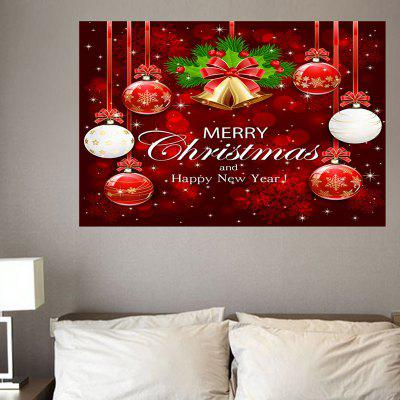 Home Decor Hanging Balls Printed Environmental Removable Wall Stickers