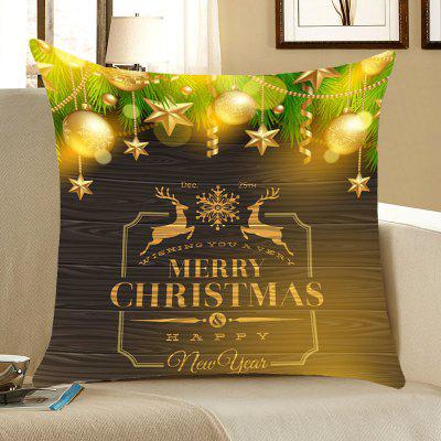Natal Elks Decorações Pattern Throw Pillow Case