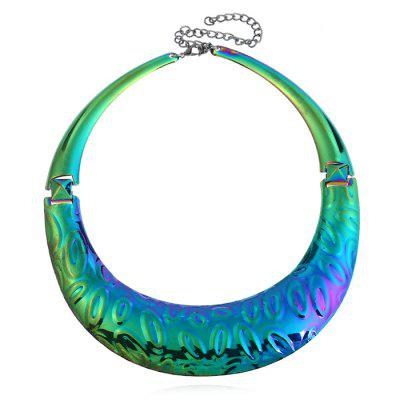 Chunky Statement Alloy Necklace