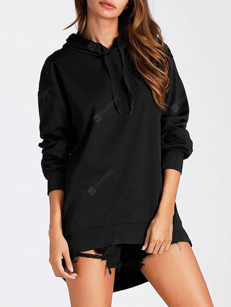 High Low Tunic Pullover Hoodie